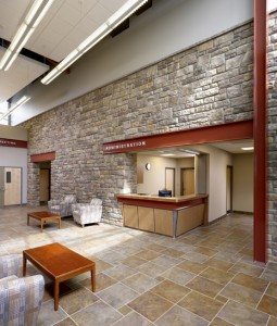 Ontelaunee Township Administration & Police, Location: Ontelaunee PA, Architect: Kimmel Bogrette & Site Architects
